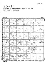Township 25 North - Range 11 West, Holt County 1948